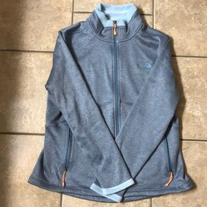 North Face XL fleece lined jacket